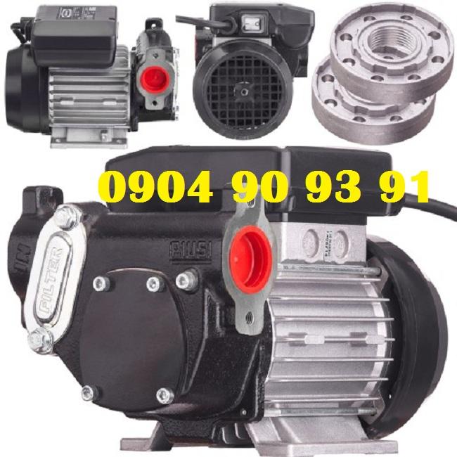 Bơm dầu diesel Panther 72,Piusi Panther 72 điện 220V,bơm dầu mini điện 220V,bơm dầu diesel điện 1pha