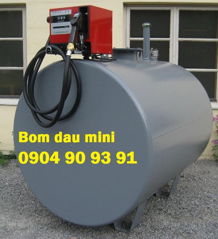 Bộ máy bơm dầu diesel Piusi Cube 56/33 230V,bộ bơm xăng dầu mini cube 56/33,may bom xang dau mini
