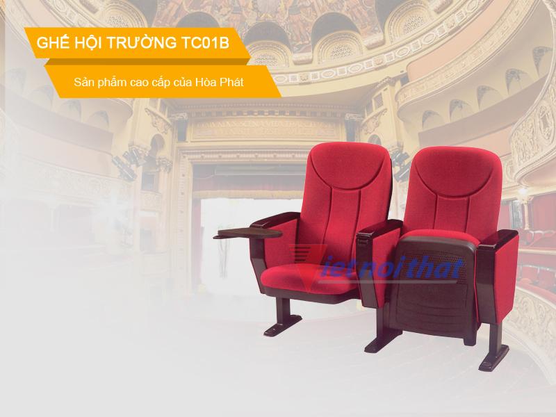 Ghế hội trường Hòa Phát TC01B