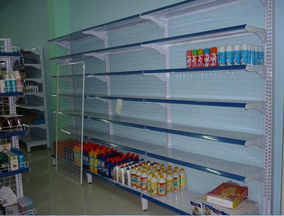 Kệ đựng hàng giá rẻ cho siêu thị mini