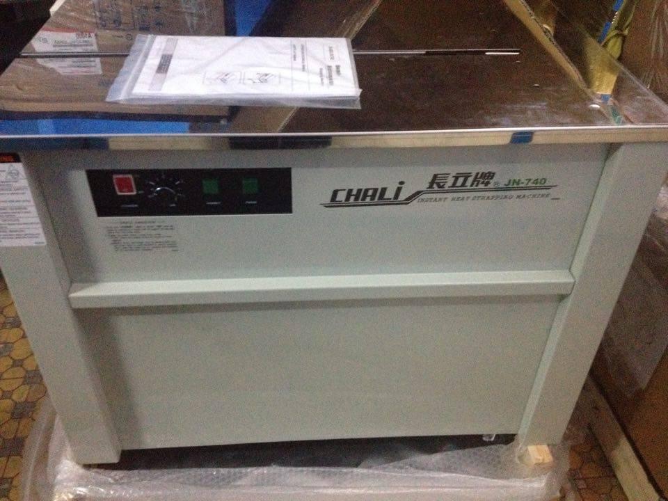 Máy đóng đai thùng carton bán tự động Chali JN-740